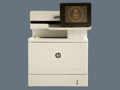 HP printers with integrated ThinPrint Client