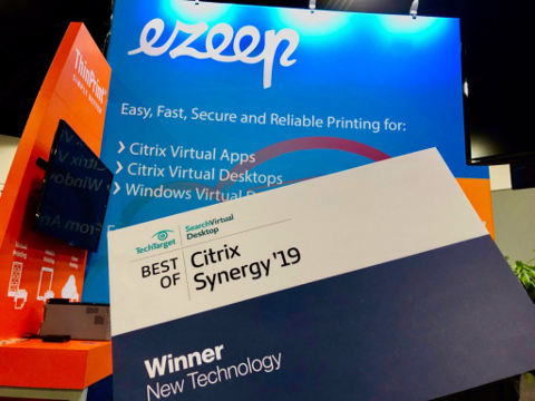 List: Archive mailing: 06/2019: ezeep for Azure Wins Best of Citrix