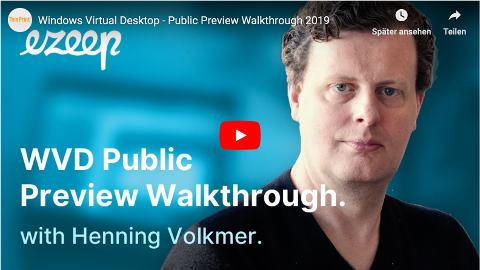 Windows Virtual Desktop Public Preview